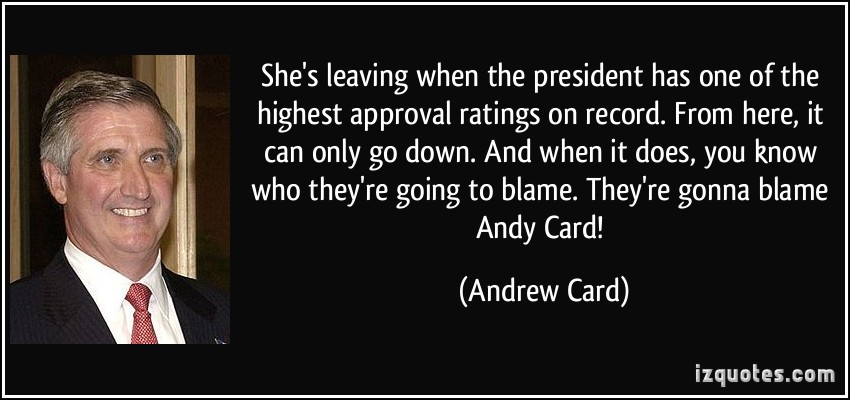 Andrew Card's quote #6