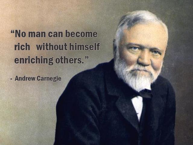 Andrew Carnegie's quote
