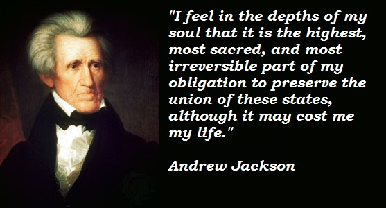 Andrew Jackson's quote #2
