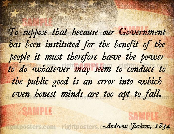 Andrew Jackson's quote #4