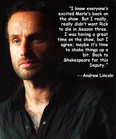 Andrew Lincoln's quote #3