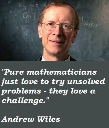 Andrew Wiles's quote #2