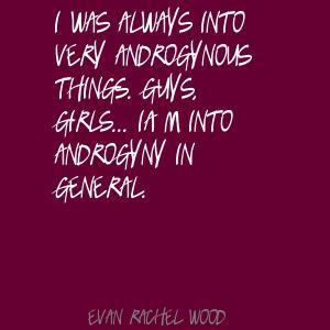 Androgyny quote #2