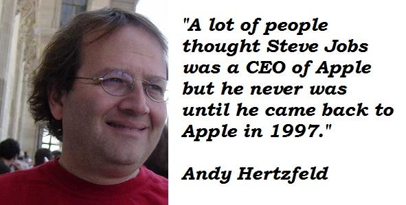 Andy Hertzfeld's quote #3