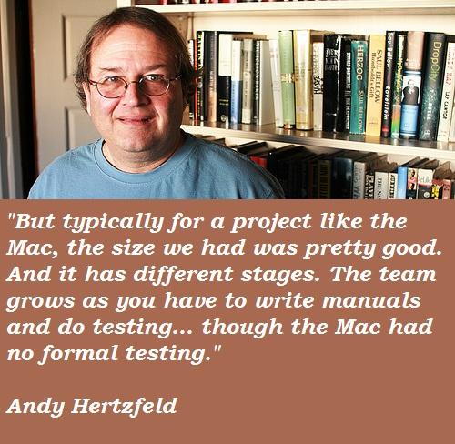 Andy Hertzfeld's quote #5