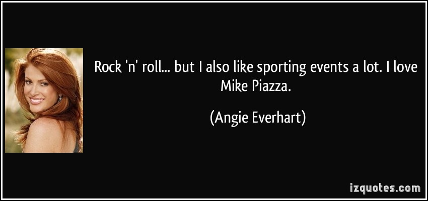 Angie Everhart's quote #4