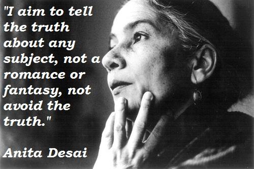Anita Desai's quote #1