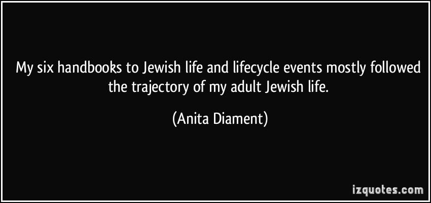 Anita Diament's quote #4