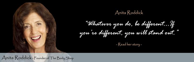 Anita Roddick's quote #1