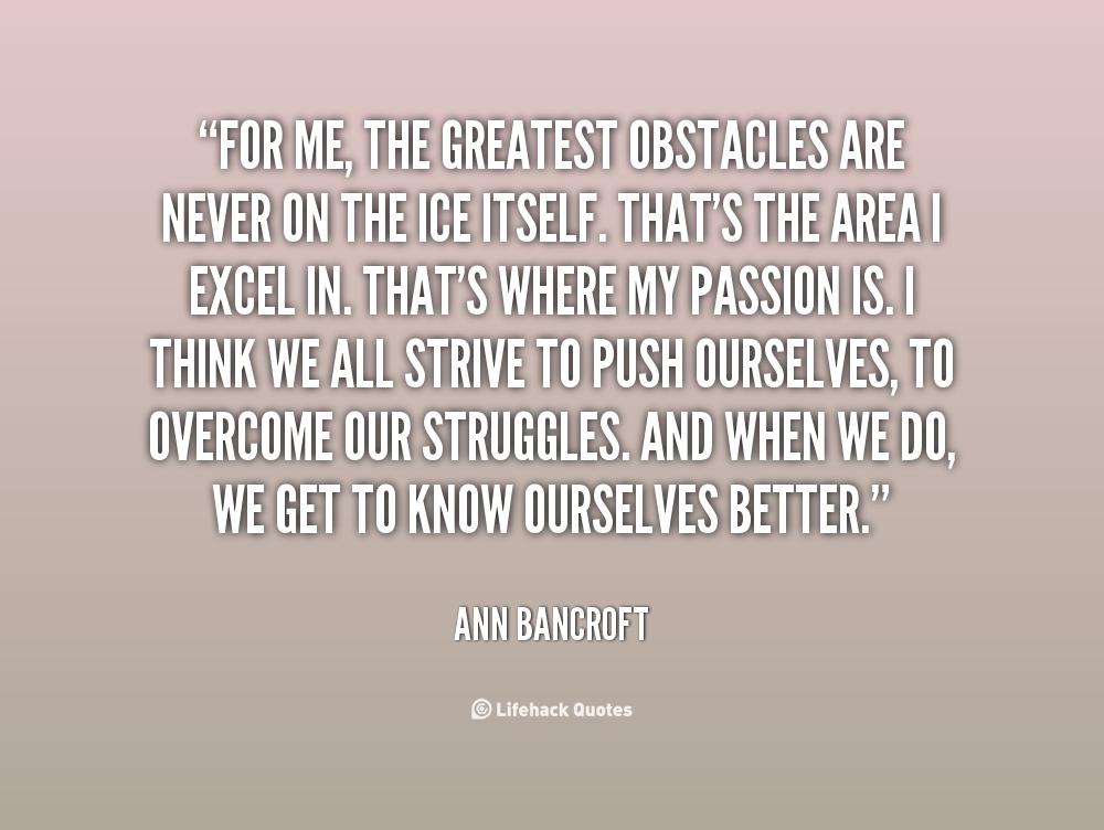 Ann Bancroft's quote