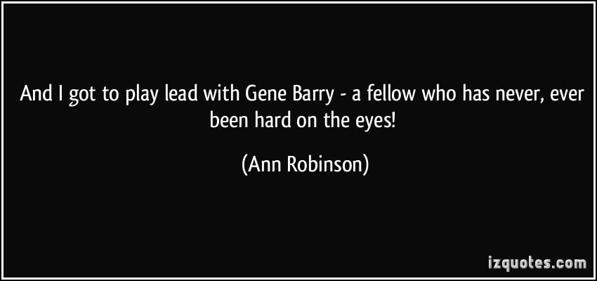 Ann Robinson's quote #3