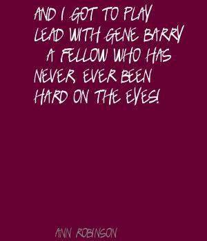 Ann Robinson's quote #6