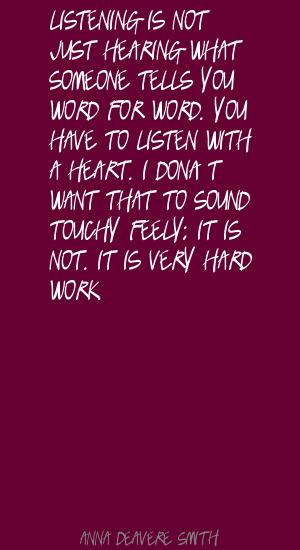 Anna Deavere Smith's quote #4