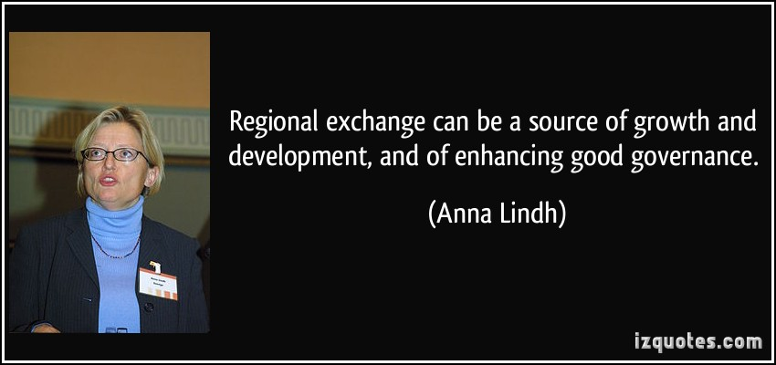 Anna Lindh's quote #4