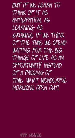 Anna Neagle's quote