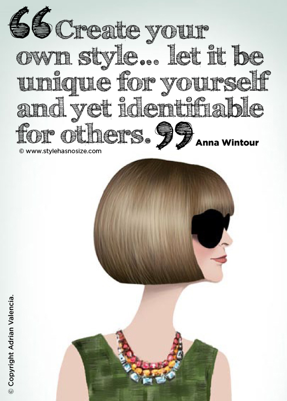 Anna Wintour's quote