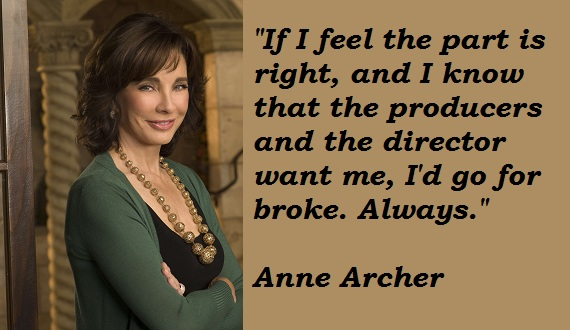 Anne Archer's quote #7
