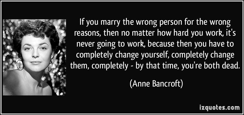 Anne Bancroft's quote #3