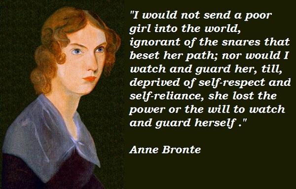 Anne Bronte's quote