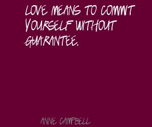 Anne Campbell's quote #4