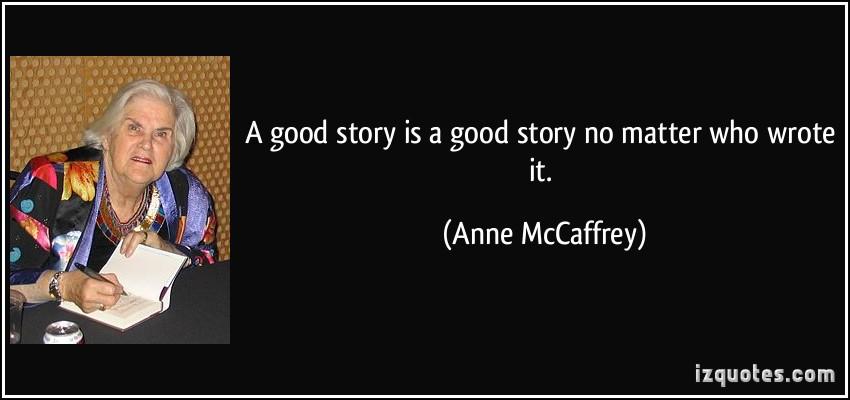 Anne McCaffrey's quote #7