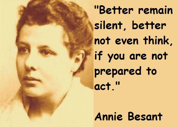 Annie Besant's quote #3