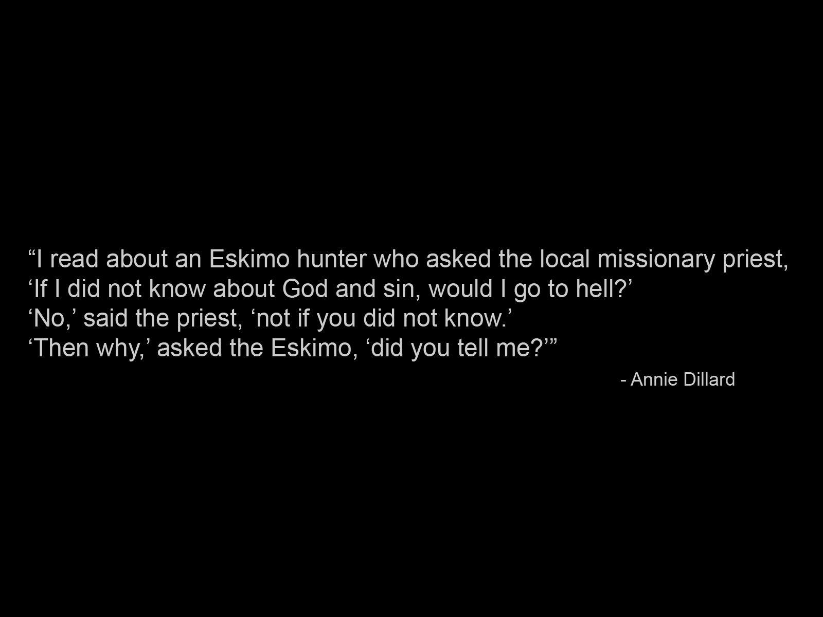 Annie Dillard's quote #1
