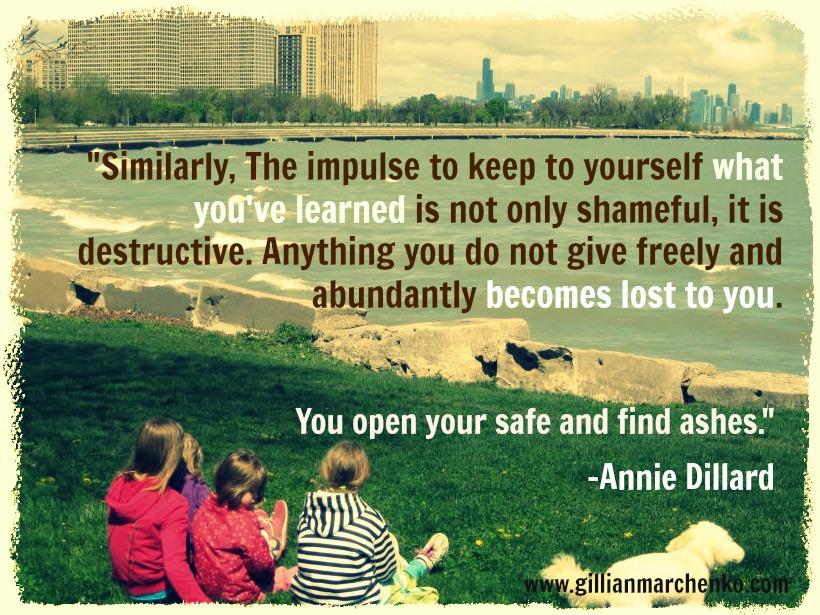 Annie Dillard's quote #4