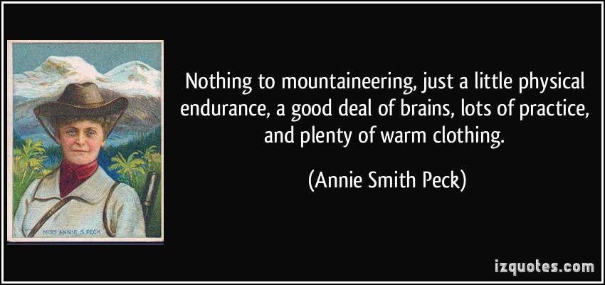 Annie Smith Peck's quote #1