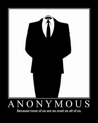 Anonymity quote #3