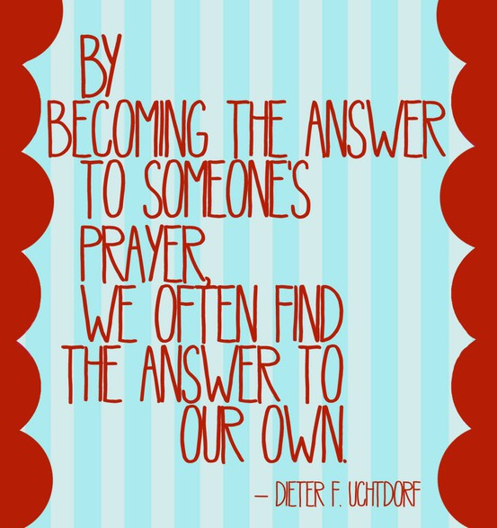 Answered Prayers quote