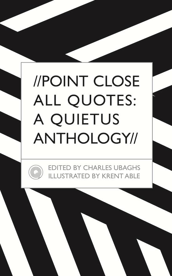 Anthologies quote #2