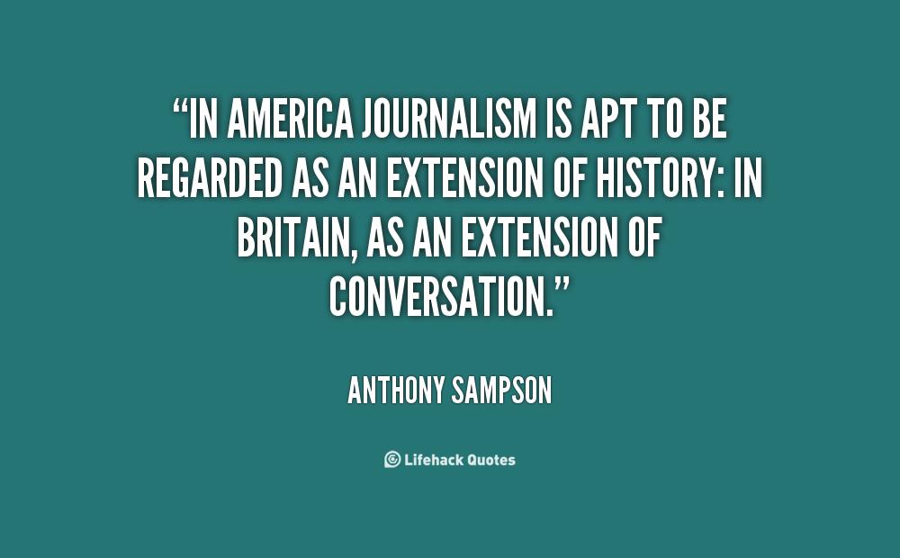Anthony Sampson's quote #1