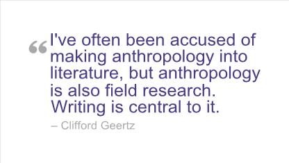 Anthropologist quote #2