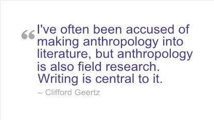 Anthropology quote #2