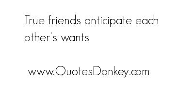 Anticipate quote #3