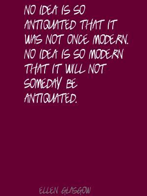 Antiquated quote #2
