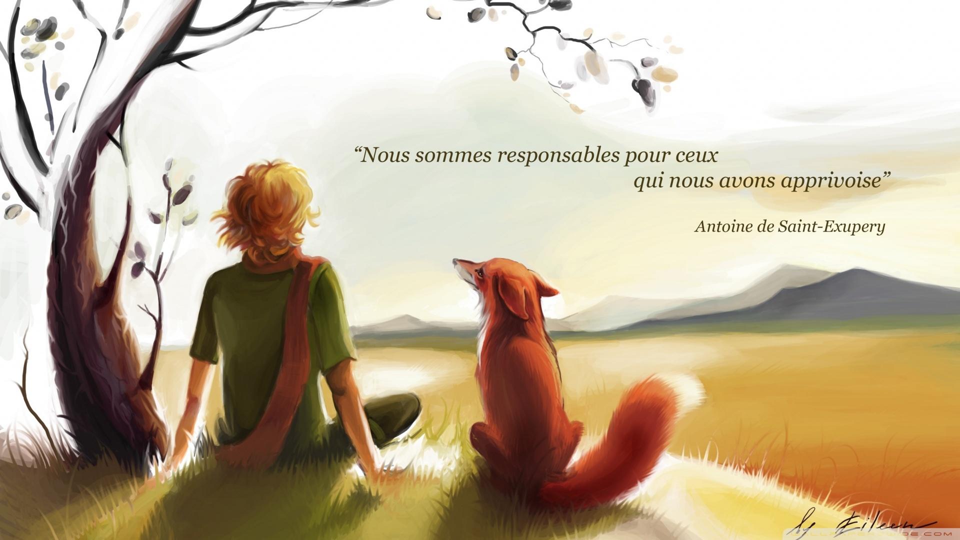 Antoine de Saint-Exupery's quote