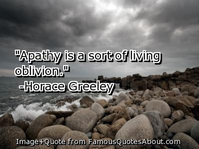 Apathetic quote #2