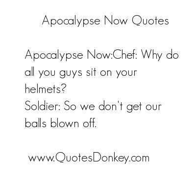 Apocalypse quote #1