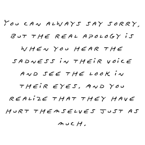 Apology quote