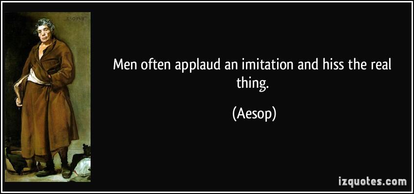 Applaud quote #1