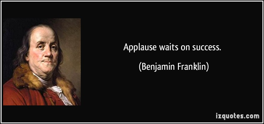 Applause quote #4