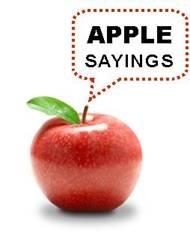 Apple quote #3