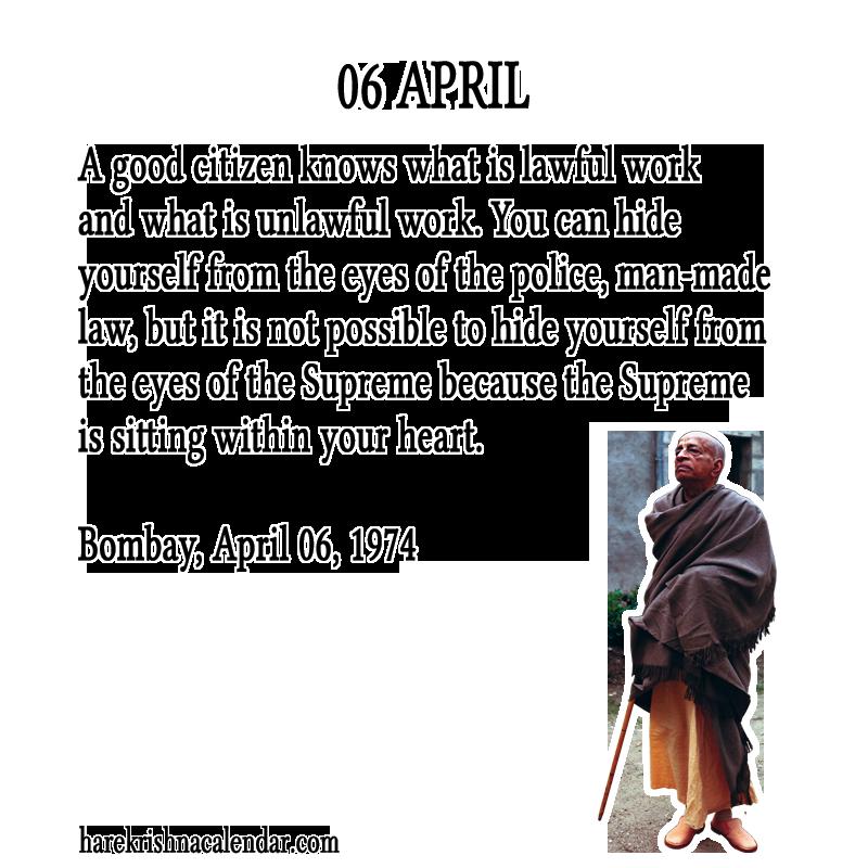 April quote #1