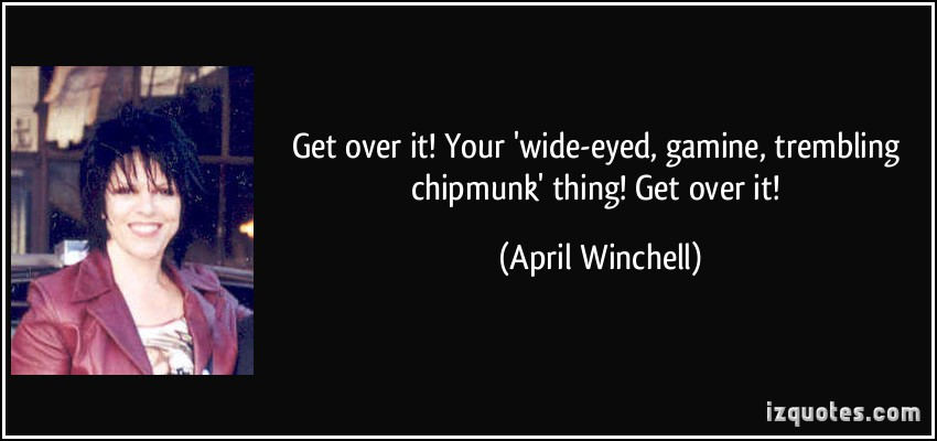 April Winchell's quote