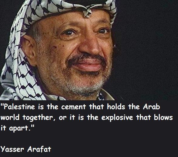 Arafat quote