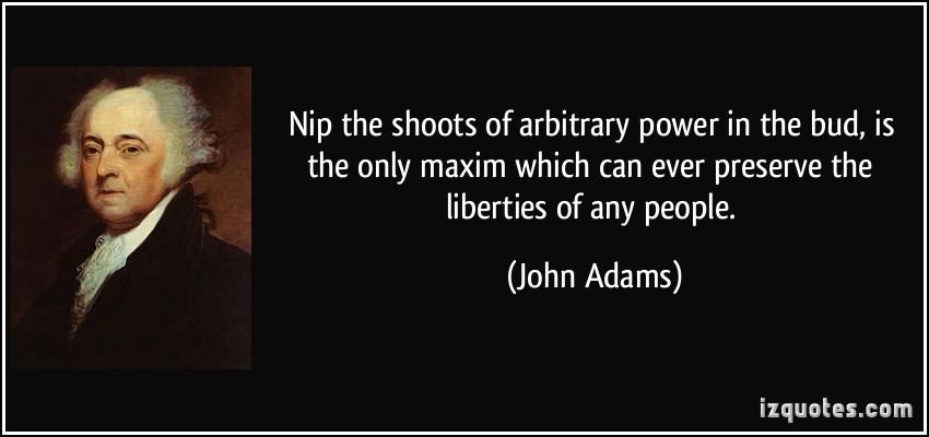Arbitrary Power quote #1