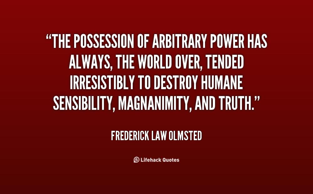 Arbitrary Power quote #2