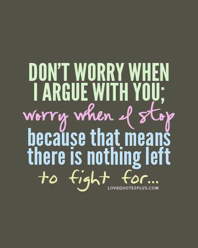 Argue quote #1